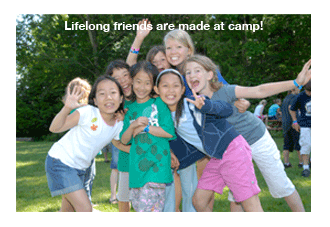 lifelong friends are made at camp!